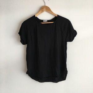 Zara short sleeve tee shirt top blouse